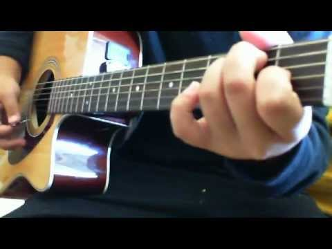 Kiss from a rose on the grave acoustic guitar cover chords youtube