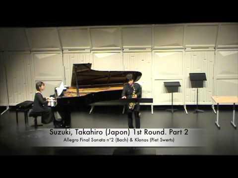 Suzuki, Takahiro (Japon) 1st Round. Part 2