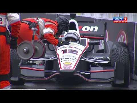 Will Power Crash @ 2014 Indy Car Toronto Race 1
