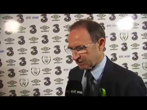 Republic of Ireland v Turkey - Post Match Interview - Martin O'Neill (25/5/14)