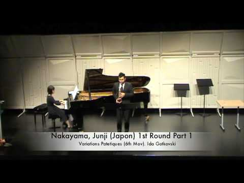 Nakayama, Junji (Japon) 1st Round Part 1