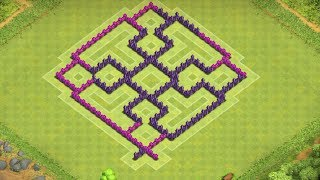 Clash Of Clans Best Town Hall 7 Hybrid Base ( Th7