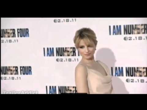 Dianna Agron Red Carpet ( I AM NUMBER FOUR)  Premier