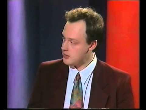 Debatt om dödsstraff med SD:s Anders Klarström i Magasinet 1992