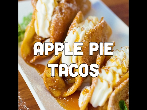 How to Make Fried Apple Pie Tacos