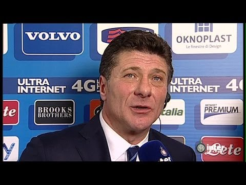 INTERVISTA WALTER MAZZARRI POST INTER-CATANIA