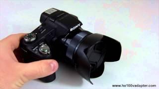 SONY DSC-HX100V DSC-HX200V HX100V HX200V Filter Adapter