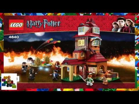 LEGO instructions - Harry Potter ™ - 4840 - The Burrow (Book 1)