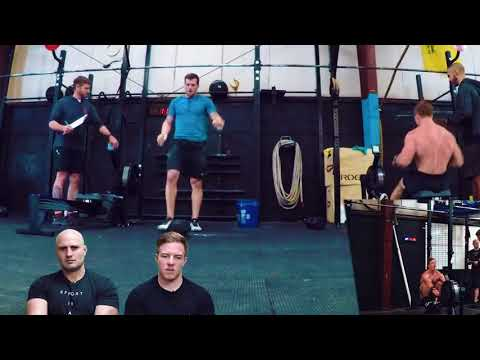 CrossFit Open 18.1 Noah Ohlsen + Travis Mayer with Commentary