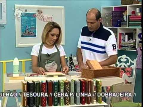 Ateliê na Tv - Tv Século - 04-10-12.