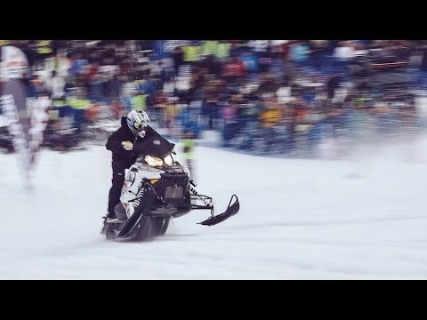 Snowmobile Uphill Race - Tärnaby Hill Climb 2014 - Team Betsafe