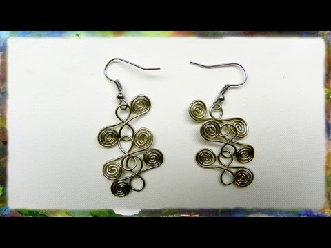 How To Make Beautiful Earrings Based On The Spiral and Figure 8 by Ross Barbera, ..