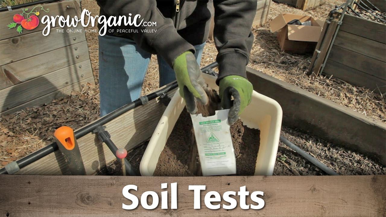 for Soil testing