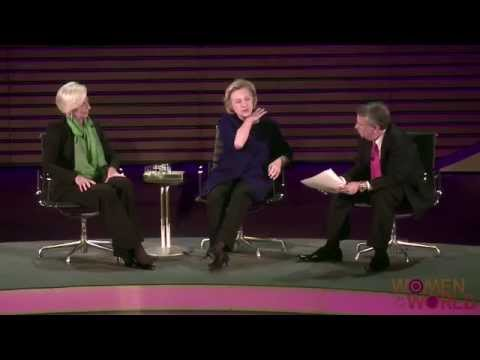 A conversation with Hillary Rodham Clinton and Christine Lagarde 2