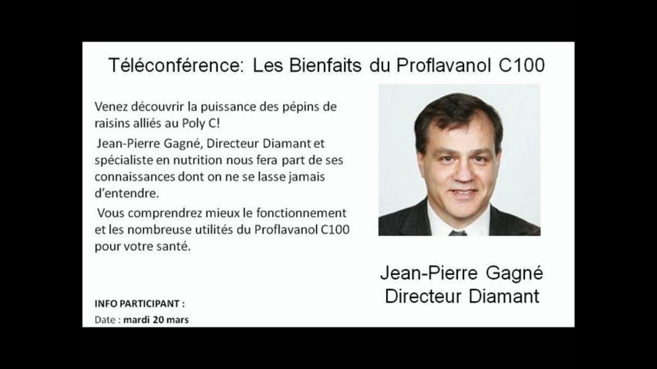 t l conf rences jean pierre gagn 20 mars 2012 les bienfaits du proflavanol youtube. Black Bedroom Furniture Sets. Home Design Ideas