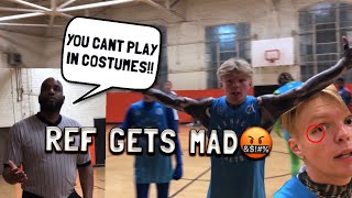 REF GETS HEATED! Playing 5v5 in COSTUMES!