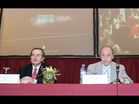Ra�l Zaffaroni present� una nueva investigaci�n sobre homicidios dolosos