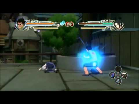 Naruto Generations All Awakening Mode's and There Combo's Part 1