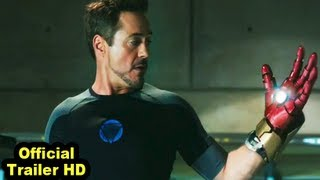 IRON MAN 3 Official Trailer (HD) Full Trailer Enter
