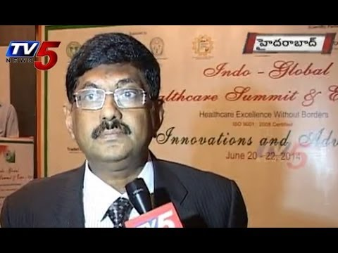 Indo Global Health Expo Show 2014 @ Taj Deccan Hyderabad : TV5 News