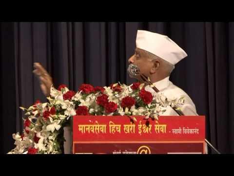 Shri  Gangaram Talekar Speech At Mumbai Dabbawala@125