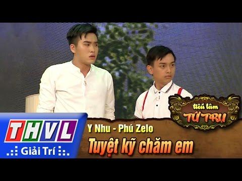 THVL   Tiếu lâm tứ trụ - Tập 4: Tuyệt kỹ chăm em - Y Nhu, Phúc Zelo