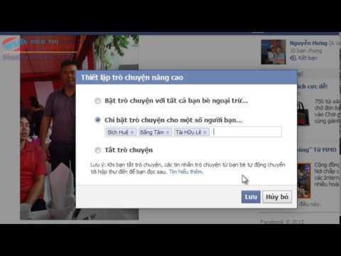 Thủ thuật ẩn/hiện nick trên Facebook có lựa chọn