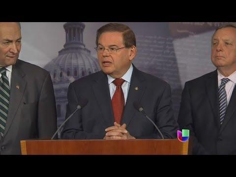 Bob Menéndez se defendió de acusaciones -- Noticiero Univisión