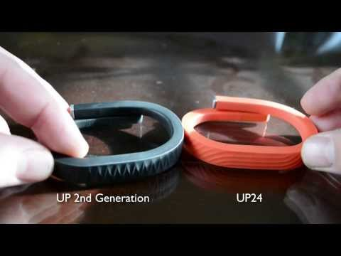 Jawbone - UP vs UP24