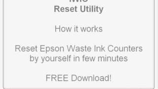 IWIC Waste Ink Pad Reset Utility For Epson Printers. MAC