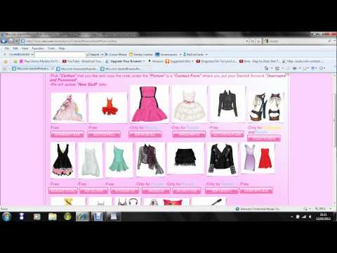 Free Stardollars on Stardoll, **READ THIS** If you want free stardollars than do this: 1.Go to this page for free stardollars(that one in video): http://www.wix.com/anggie188/freestardoll...