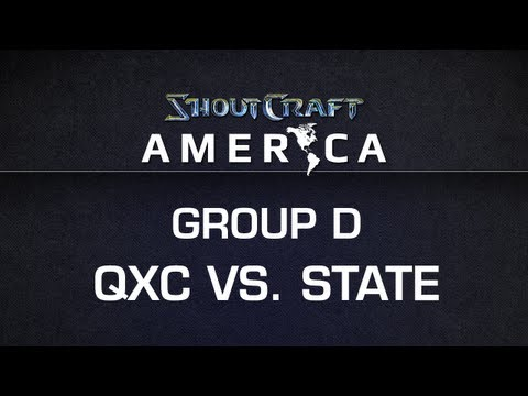 ShoutCraft America - Group D - qxc vs. State BO3