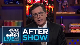 After Show: Stephen Colbert Says Donald Trump's Tweeting Has No Dignity   #FBF   WWHL
