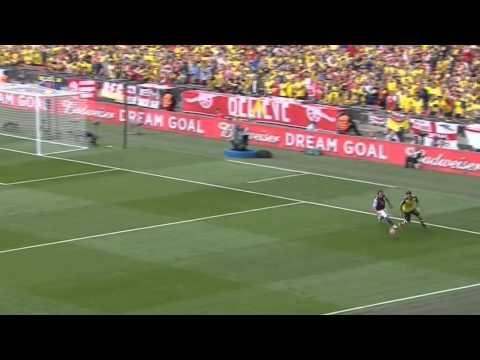 Mesut Özil vs Aston Villa - FA Cup Final