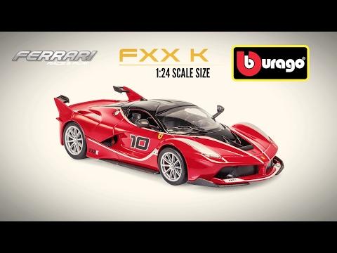 Bburago Ferrari FXX K- 1:24 Scale Diecast Car