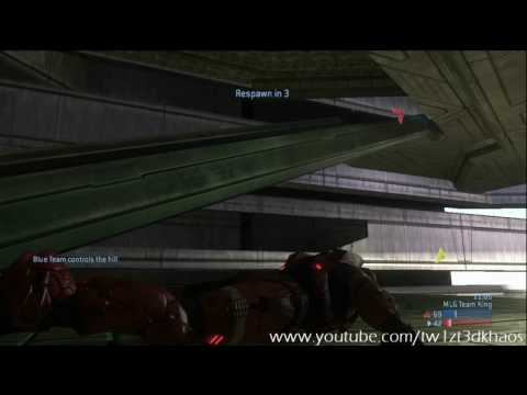 MLG Playlist Game - Construct King - GuN ShoT POV *Halo 3 Gameplay* HD - Part 1