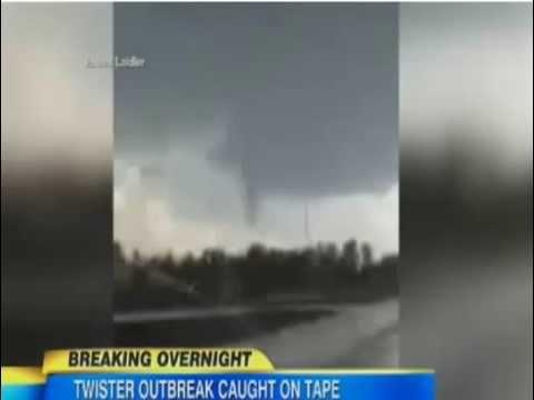 Mayflower Arkansas Tornado, Oklahoma Tornado 2014 : Caught on Camera
