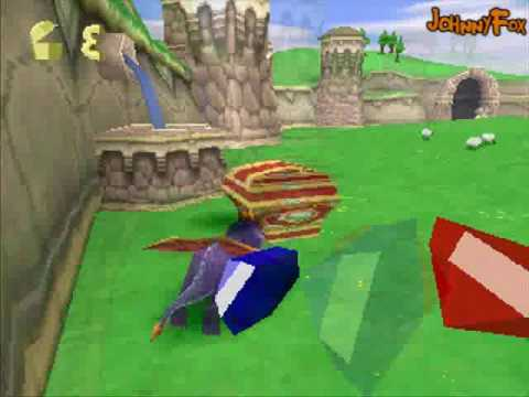 Spyro the Dragon -02- Stone Hill, Stone Hill level from the Artisans world. This was a second try, because the first try ended with me running after ONE last gem for minutes. I ran through th...
