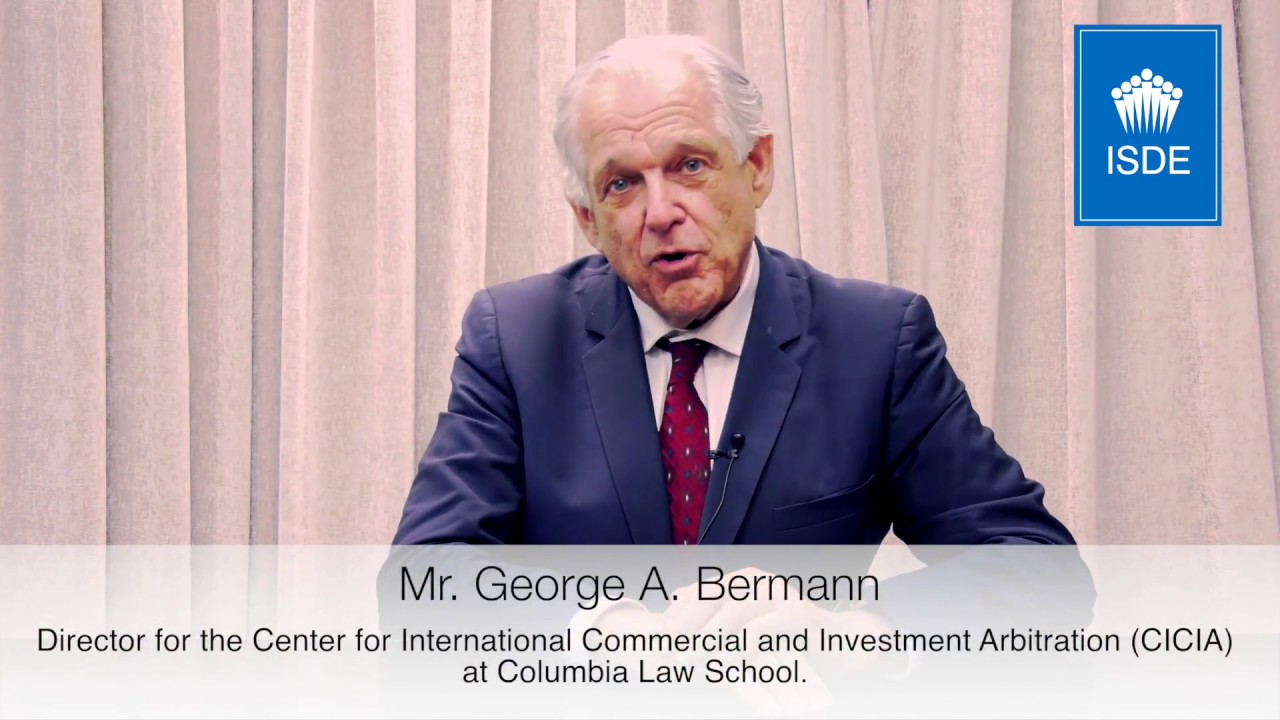 George Bermann. Co Director of the program