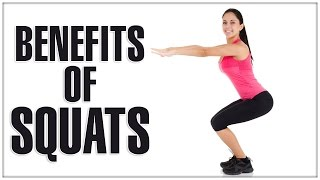 10 Benefits Of SQUATS For Women