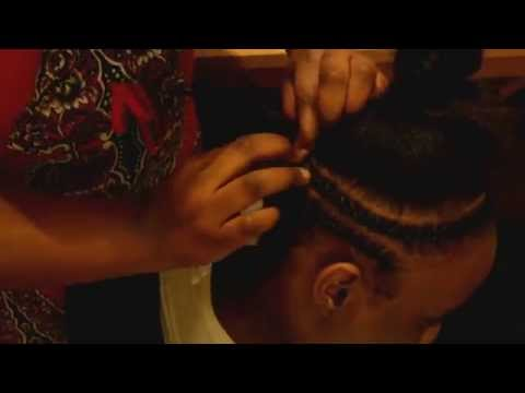 Crochet Hair Vs Sew In : Braid Pattern for Crochet Braids w/ Bang / Full Sew-in - YouTube