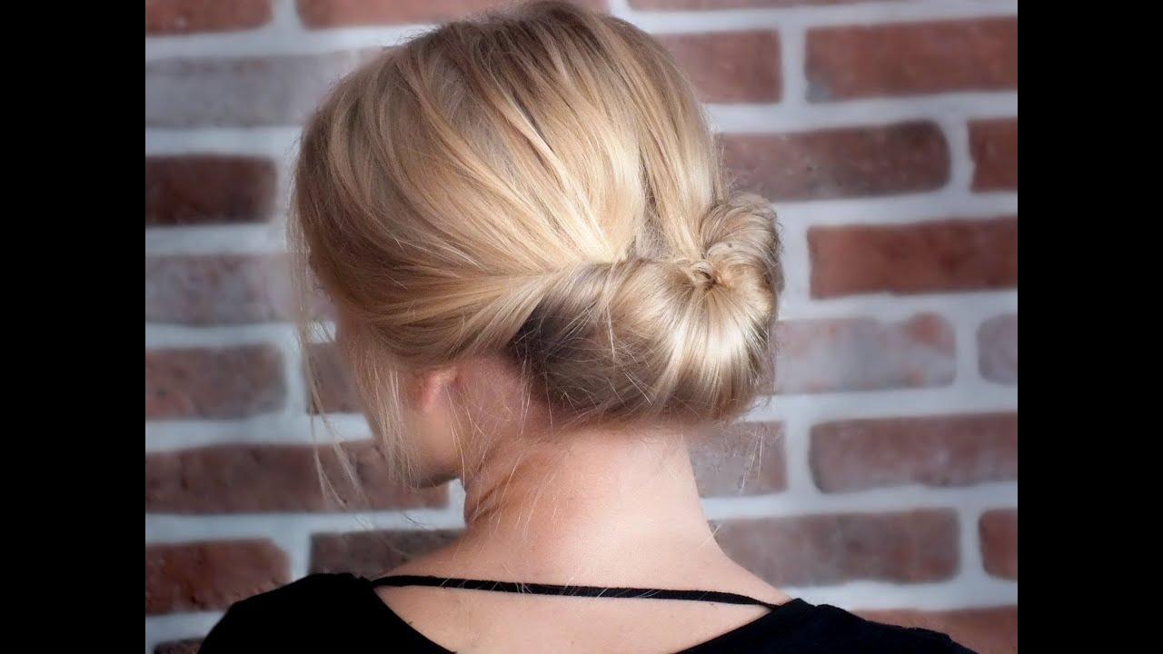 tutoriel coiffure chic facile et rapide pour les f tes. Black Bedroom Furniture Sets. Home Design Ideas