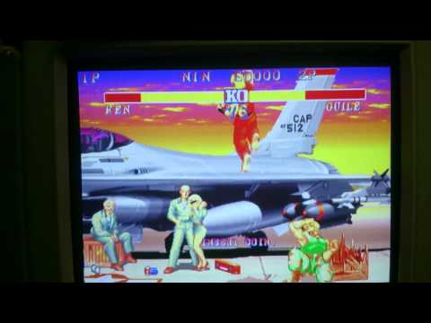 Street Fighter II CE Bootleg Jamma PCB Part #3 (MSTREET-6)