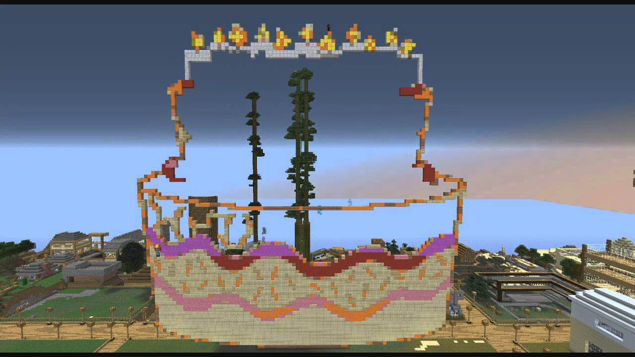 Cake Pixel Art Minecraft : Minecraft - Pixel Art - Speed Build - Birthday Cake - YouTube