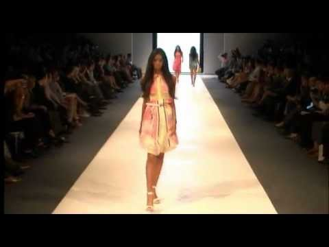 Marylin Saldaña - Adolfo Dominguez S/S 2012  Lima