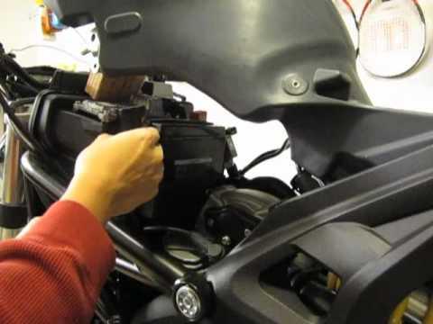Ducati Monster Battery Dead