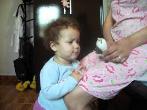 Som de animais com a bebe Ligia