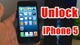 How To Unlock IPhone 5 Works For All Versions!