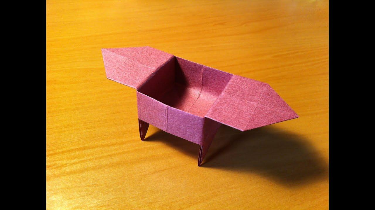Origami Box Candy Dish Youtube