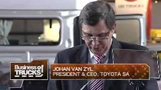 Joburg International Motor Show - Hino